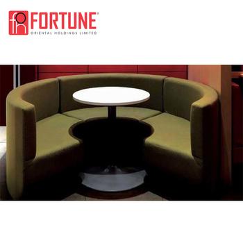 Half Round Restaurant Booth Sofa Fohrt
