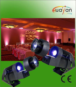 Rotating LED Gobo Projector IRC remote logo projector