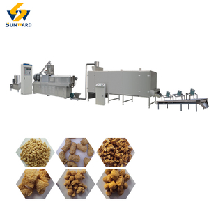 China custom built extruding soybean meat equipment/ soybean protein machine