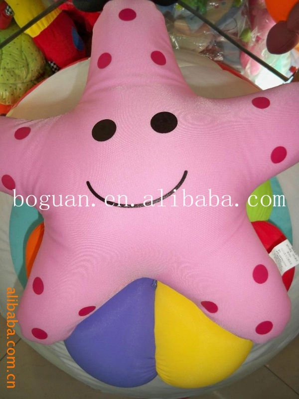 Hot Sale! fashion animal microbeads pillow cute pillow