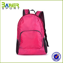 2017 cheap waterproof foldable nylon backpack