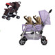 cheap baby pushchair hot sale twin stroller/double stroller