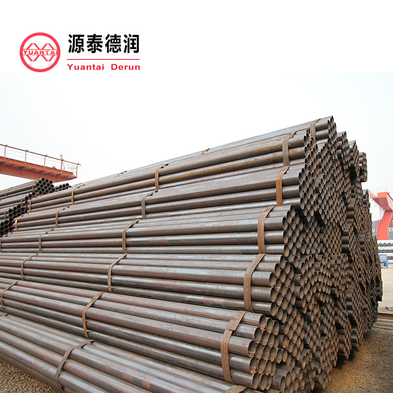 1 round steel external threaded tube