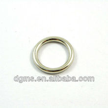 Metal zinc alloy O ring for bag