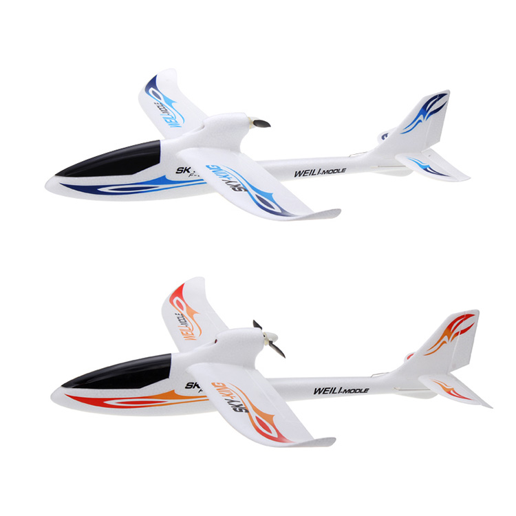 3 channels 2.4Ghz throwing EPO foam toy plane rc glider