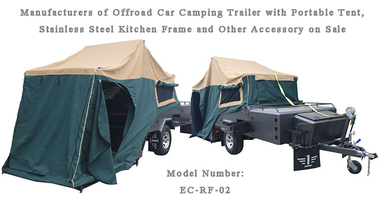 Hard Floor Forward Folding Off-road Camper Trailer for Travel Hot Sale in Europe