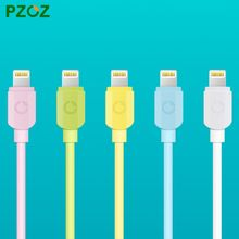 PZOZ For iphone Lighting Cable Original USB Cabel Adapter Fast Charger For i6 iphone 6 s plus i5 iphone 5 5s ipad air ios 9