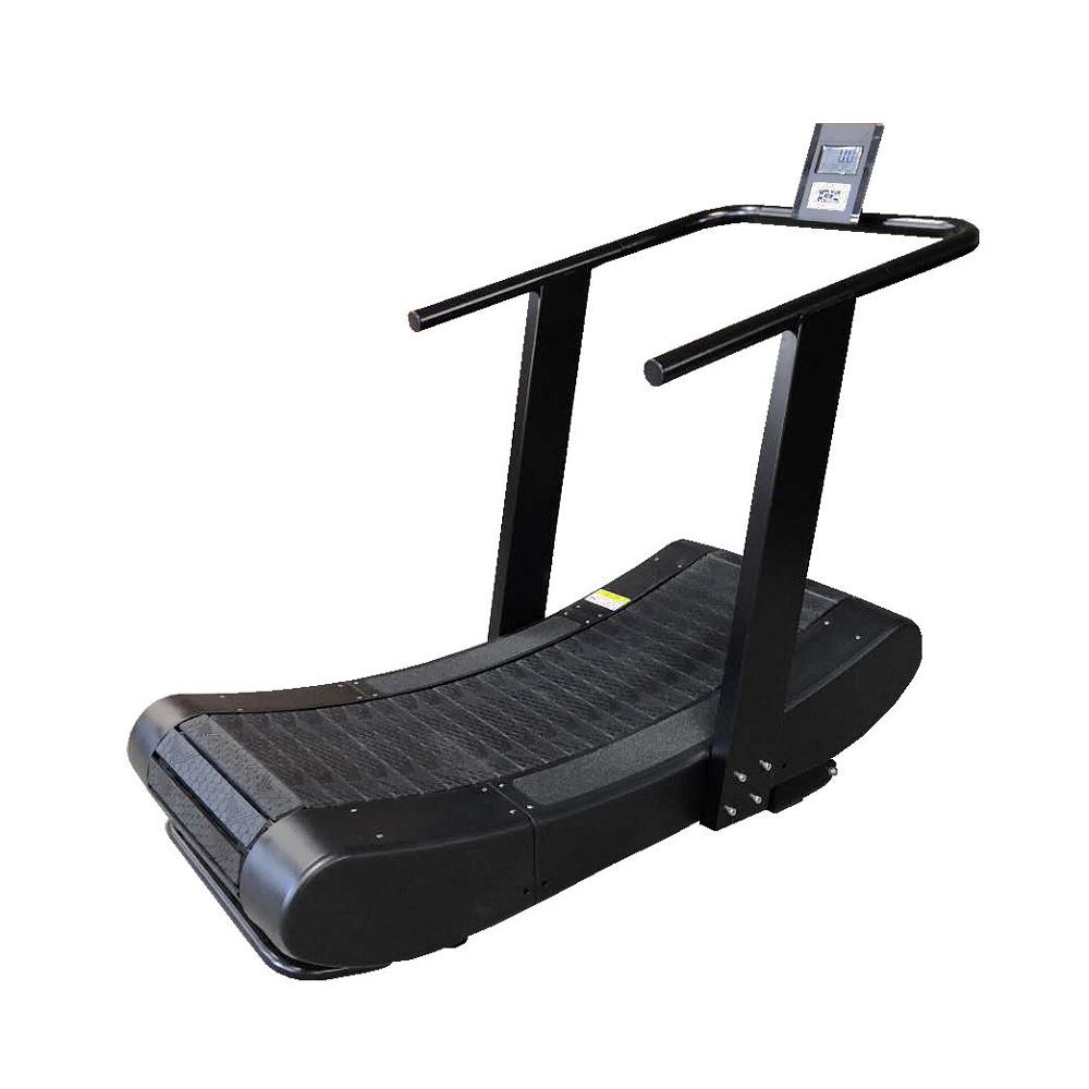 Custom logo black commercial manual treadmill