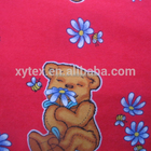 100% Cotton Printed Baby Flannel Fabric