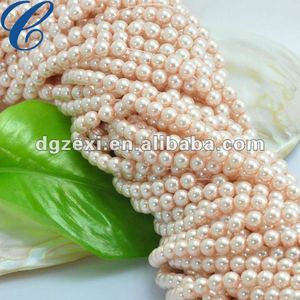 Quality Faux Pearl Glass bead For Bracelet