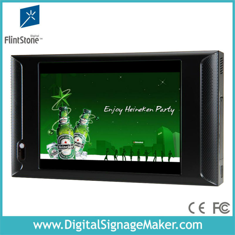 "10"" Auto Play and Re-play LCD TV Video Monitor"