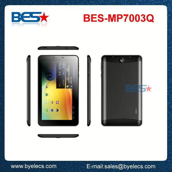 Private mold 1024x600 hd screen 1gb 8gb phone call 3g net gps quad core android 4.1 tablets