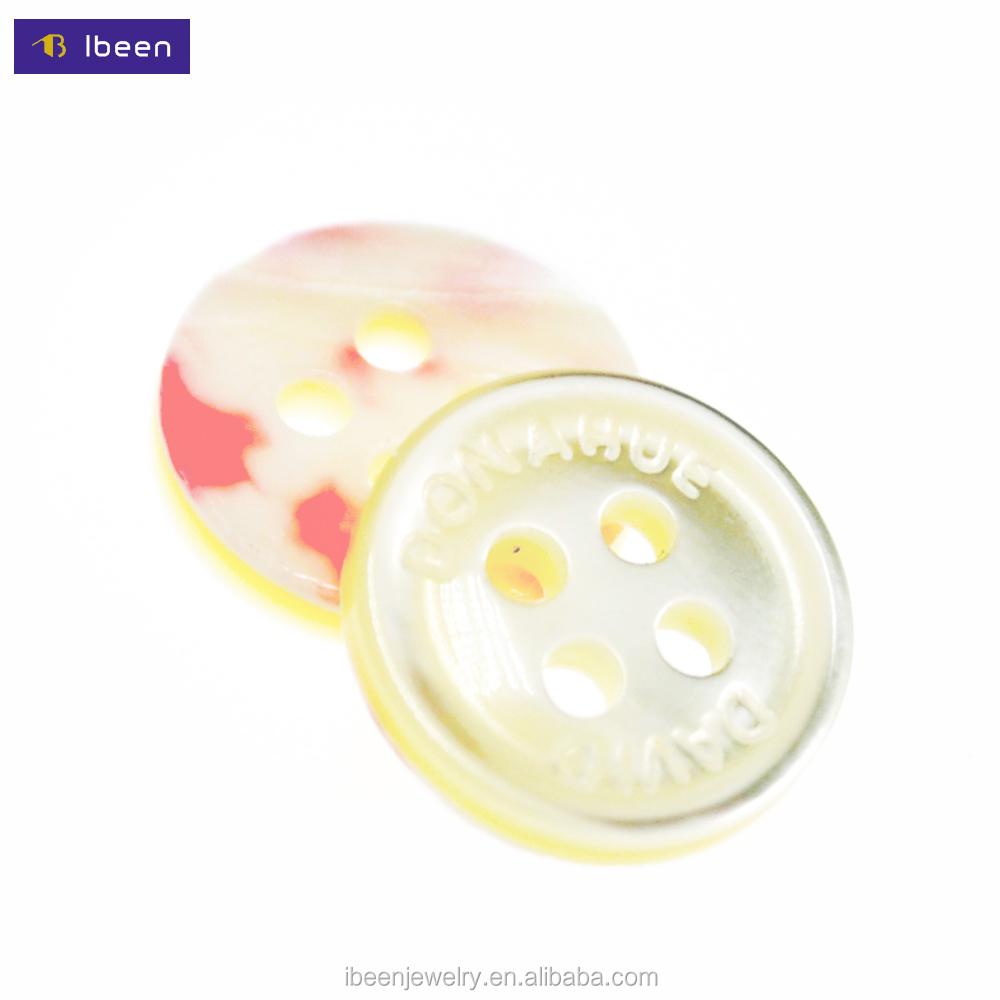 18L Yiwu Ibeenfashion Hengmei Trocas Shell Direct Sale T-shirt Button Wholesale Natural Shell Button
