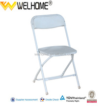 hotsale metal folding chair plastic folding chair factory from China