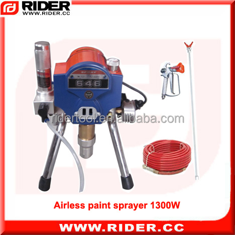 1300W/1.75HP reciprocating machine spray paint ,handy new airless paint sprayer