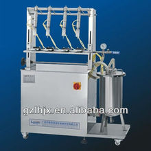 CE Hot sale easy operate 4-6 heads Semi-Automatic spray bottle liquid filling machine
