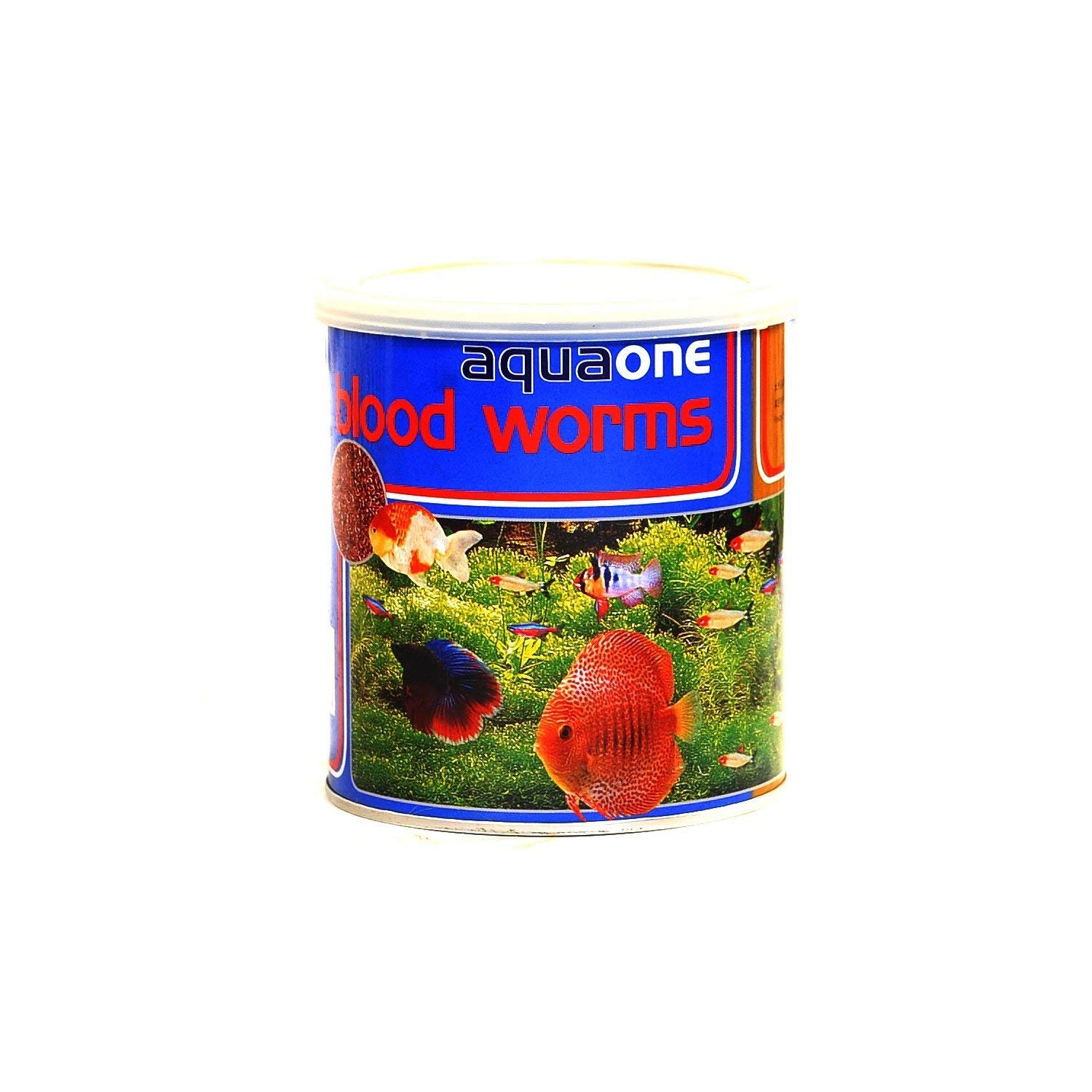 aquaone Freeze Dried Blood Worms Pet Food, 45gm