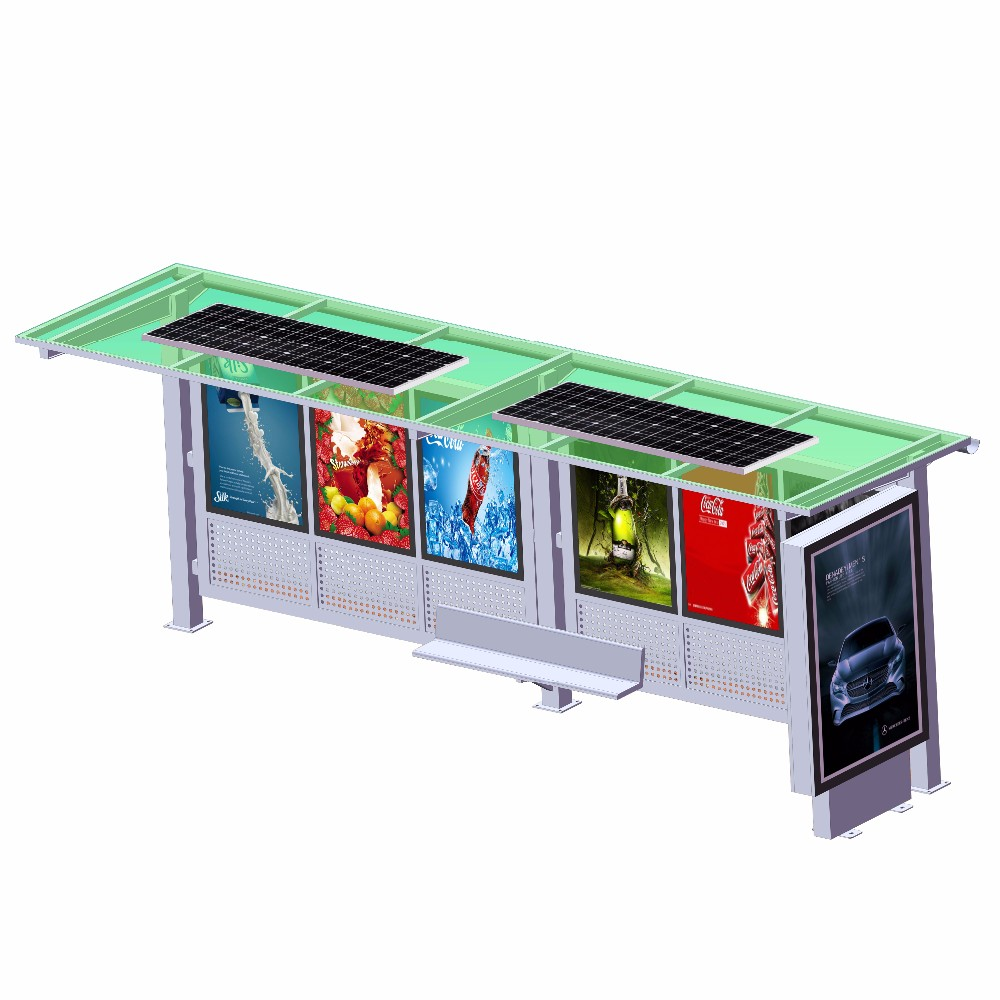 product-YEROO-Modern Popular Outdoor Advertising Bus Station High Quality Smart Bus Shelter-img-3