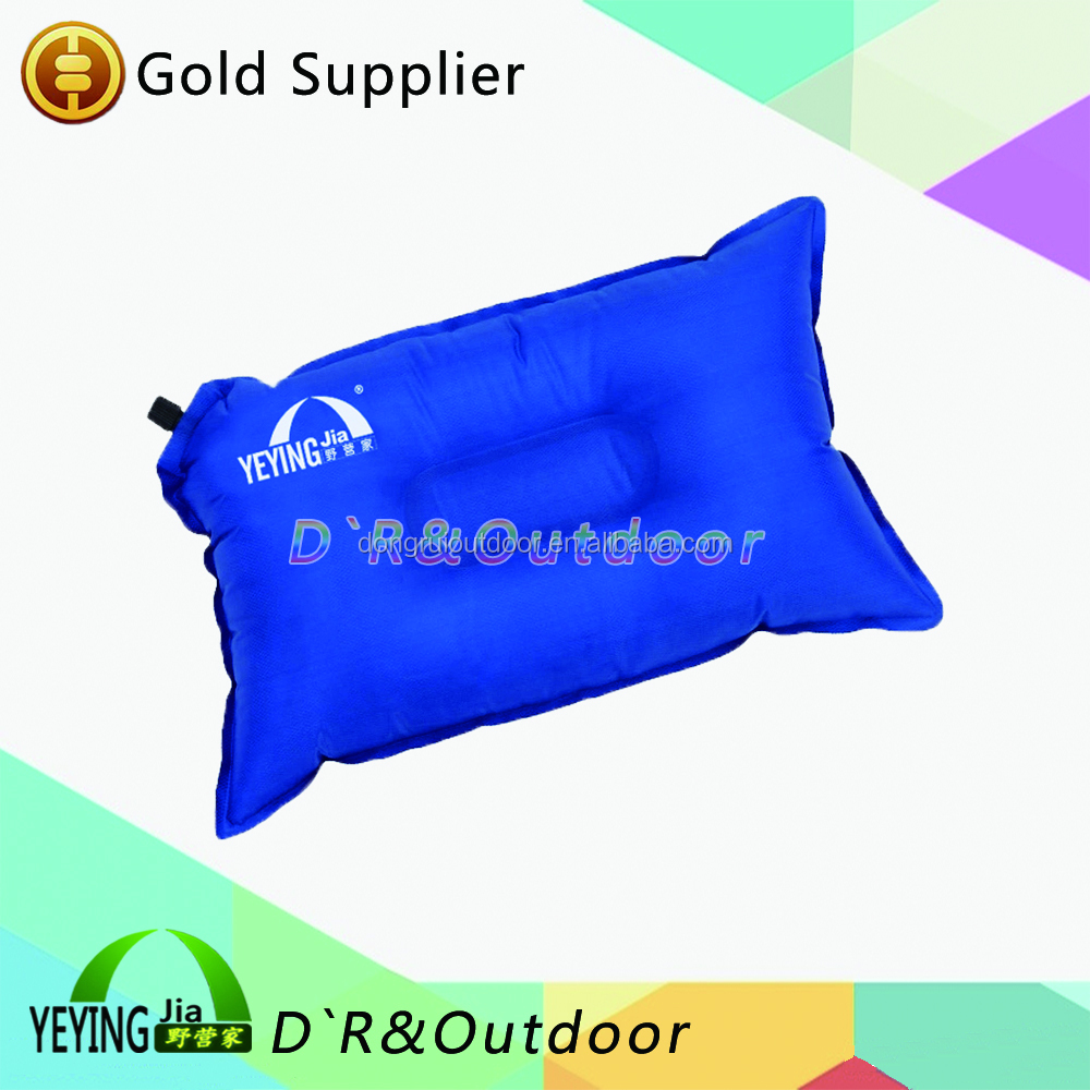 Cheap wholesale automatic inflatable travel pillow