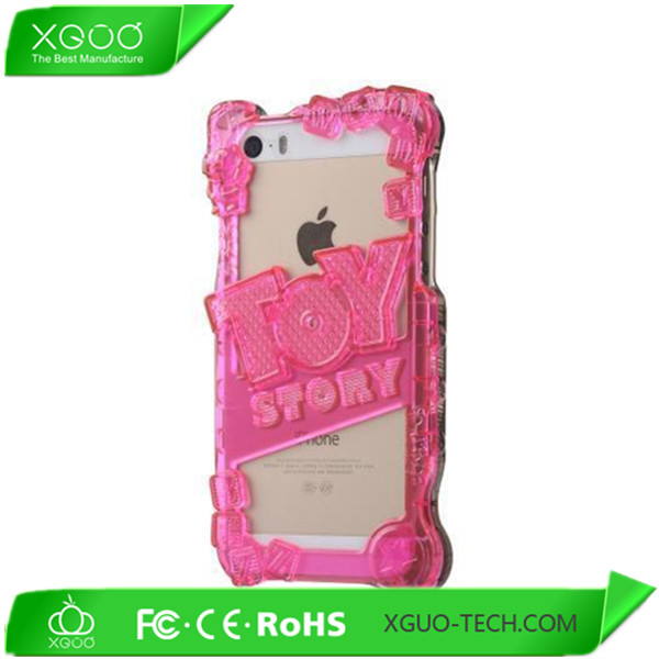 soft tpu rubber bumper cover case for new apple iphone 5
