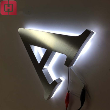 Laser Cut Free Standing Mirrored Backlit Letter Led Sign Acrylic Letters  For Decoration - Buy Led Signs,Acrylic Letters,Backlit Letter Sign Product  on