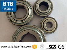 Square bore bearing agricultural bearing GW208PP17
