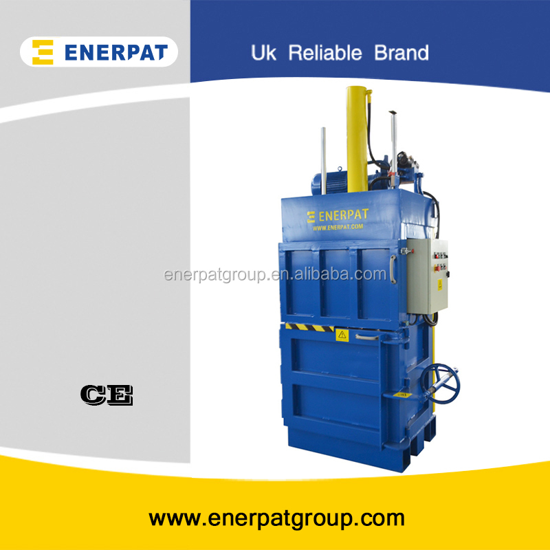 Hydraulic plastic bottle baler machine with UK quality ane competitive price