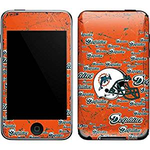 NFL Miami Dolphins iPod Touch (2nd & 3rd Gen) Skin - Miami Dolphins - Blast Vinyl Decal Skin For Your iPod Touch (2nd & 3rd Gen)