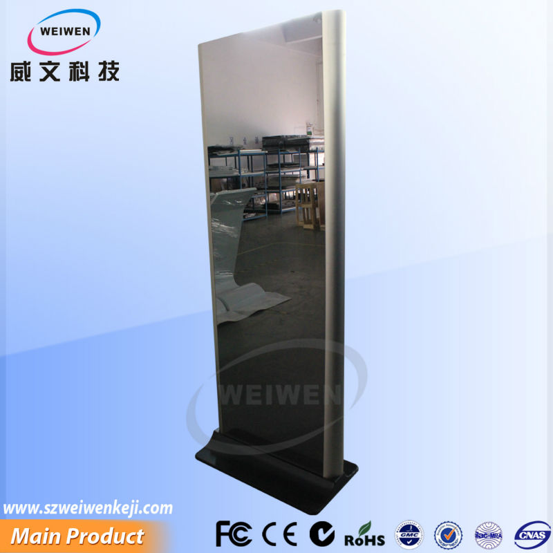 42inch lcd mirror advertising display