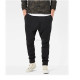 35% polyester 65% cotton tracksuit pants adjustable waist sweatpants tapered bottoms pants