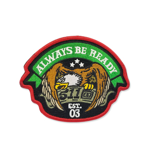 Direct factory sale custom high quality cheaper embroidery iron on Embroidery Patches for Apparel