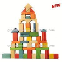 50pc Wood block set