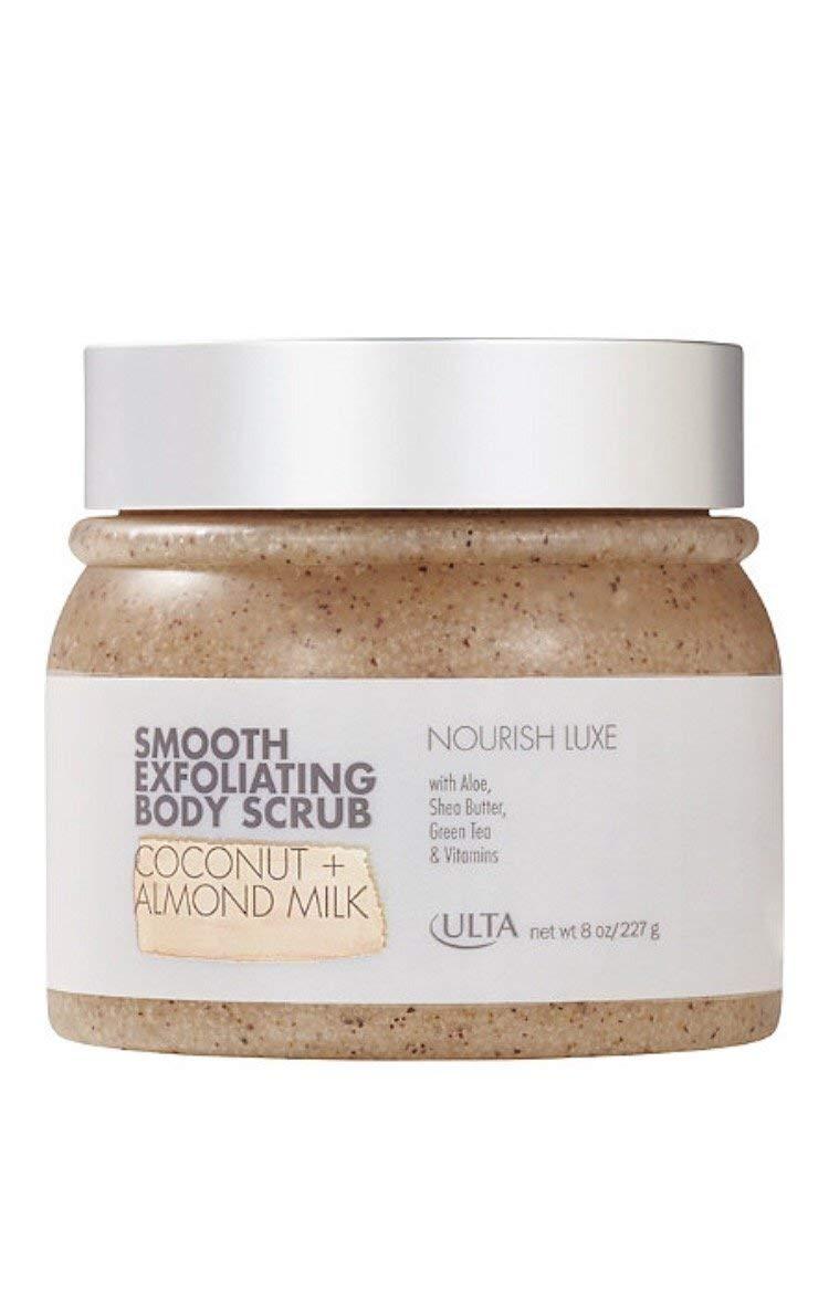 Ulta Smooth Exfoliating Body Scrub ~ 8 oz ~ Coconut + Almond Milk