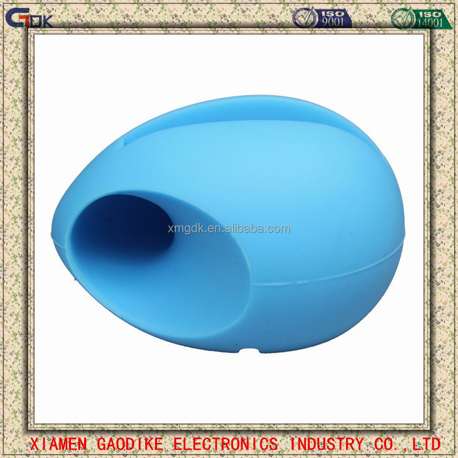 egg shape silicone amplifier silicone horn speaker fashion egg shape silicone amplifier for phone 6s plus