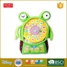 spanish functional educatioanl frog mobile phone talking learning toy