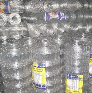 13/84/15 hot dipped galvanized hinged joint fence , filed fence 100m rolls /200m rolls as request
