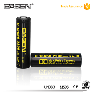 In stock ! basen 18650 lithium ferro phosphate battery pack 18650 li ion portable pressure washer with rechargeable battery