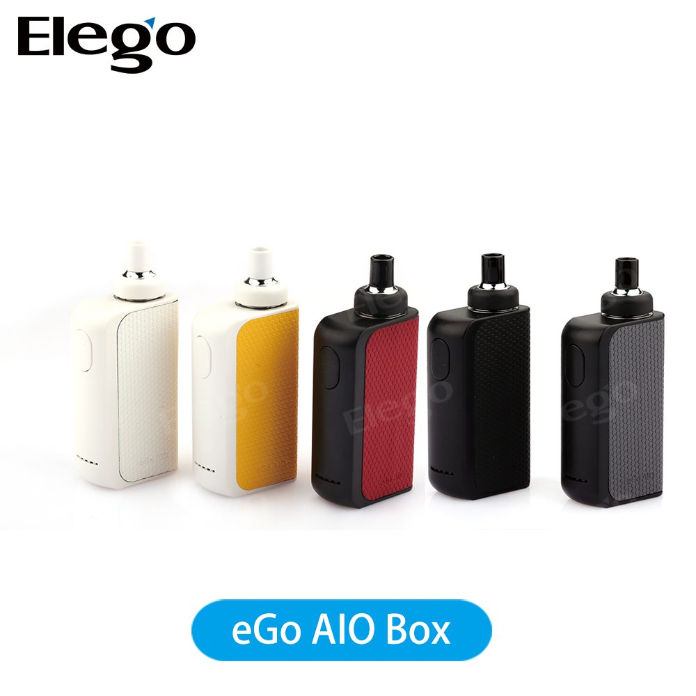 Cheap price Ego AIO kit 2017 fast shipping electronic 19mm joyetech ego aio starter kit Uses Cubis BF coil