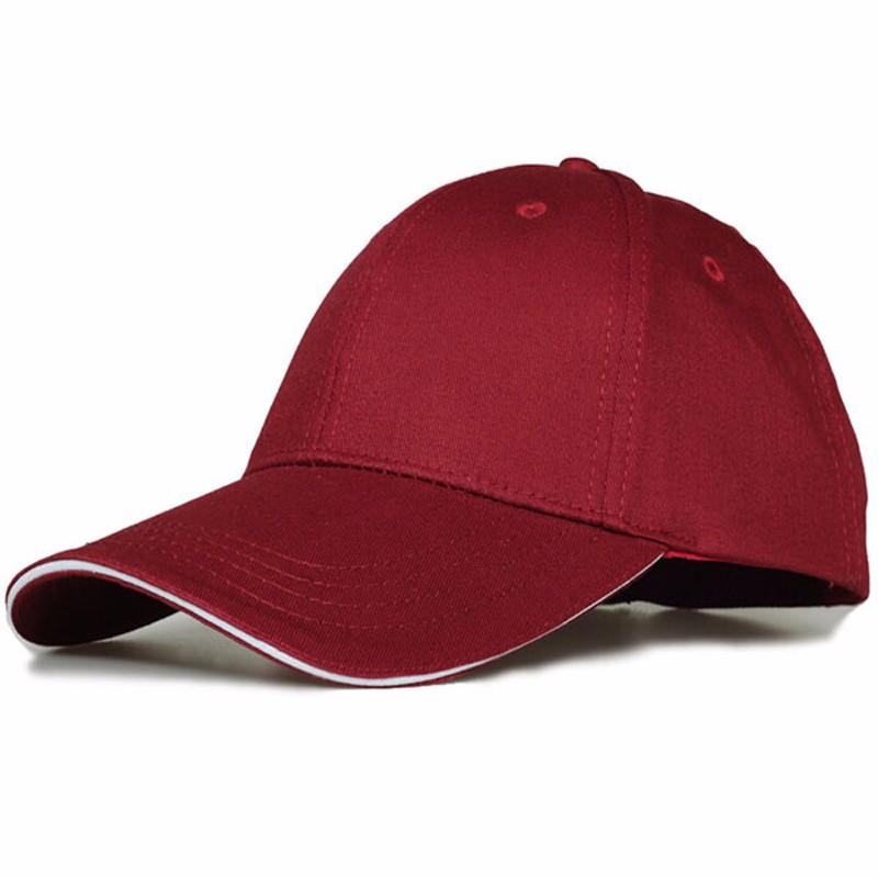 custom low crown long brim construction cotton baseball cap mid caps deep