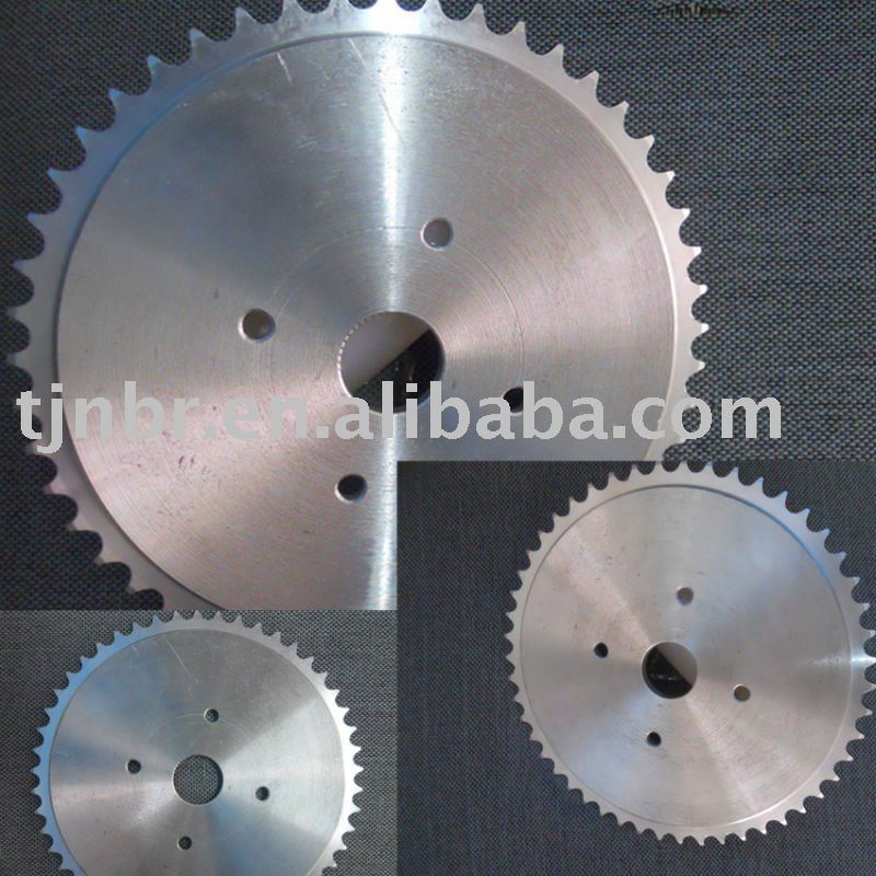 M3-M4 steel 08B hardened steel plate sprocket,bicycle chain sprocket