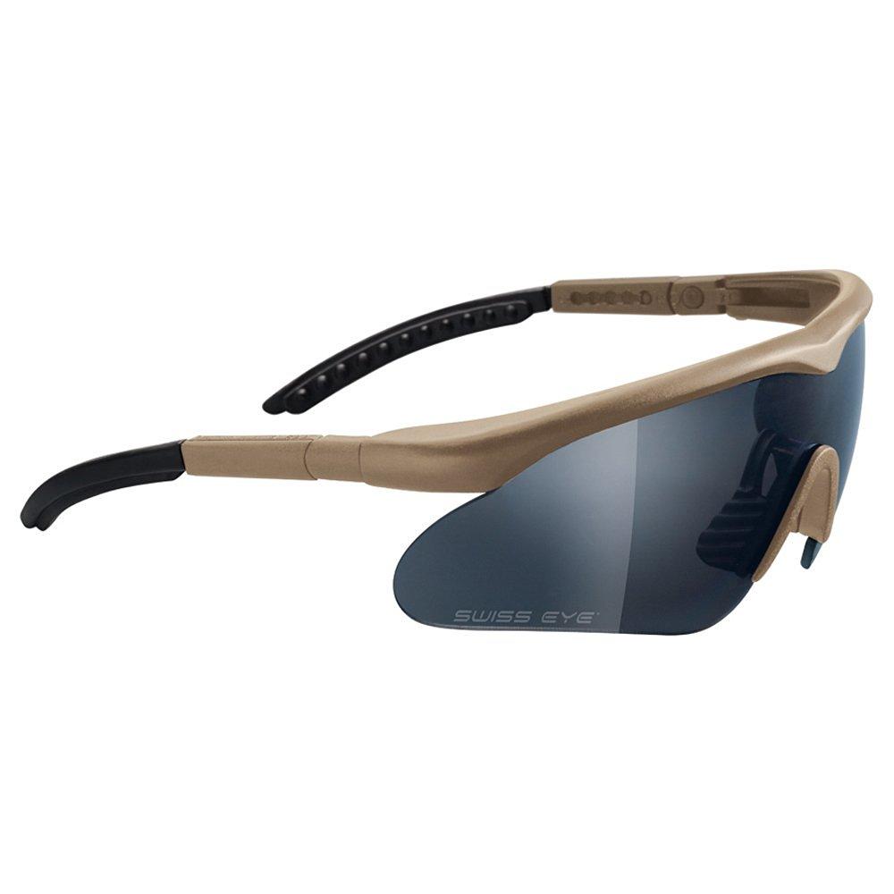 7bf883f4b73 Get Quotations · Swiss Eye Raptor Ballistic Sunglasses - Black