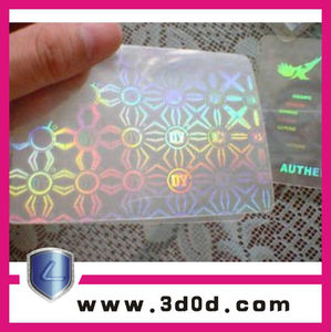 Holographic stickers, 3 d hologram label