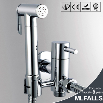 Factory Direct Price High Quality Bathroom Faucet Accessories Chrome Shower Head Bidet Sprayer