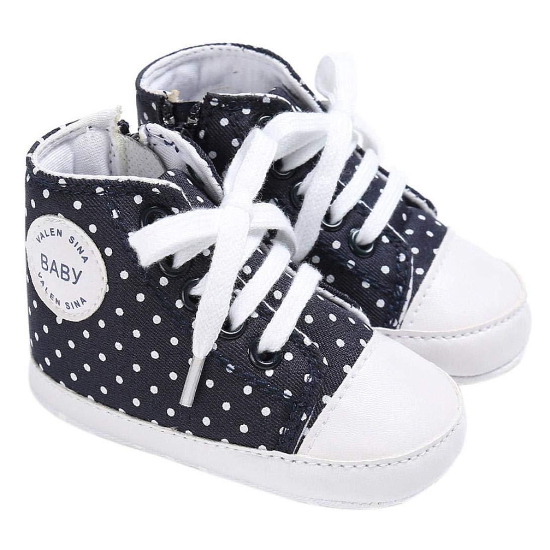 b92de8576778 Get Quotations · Fabal Baby Shoes Boy Girl Newborn Crib Soft Sole Shoe  Sneakers