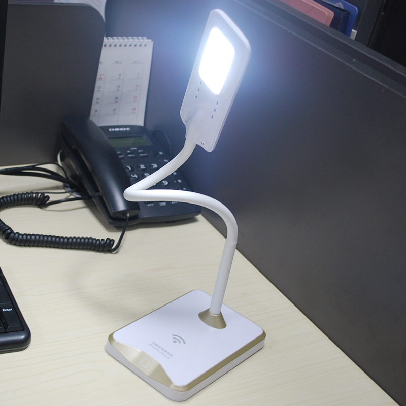 Simple Electric Touch Control Portable Folding Reading Led Cordless Desk Lamp