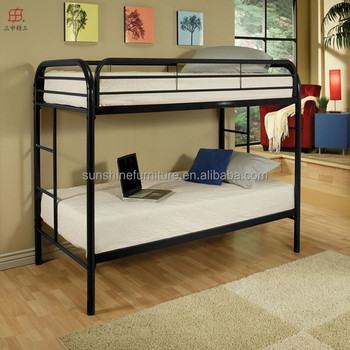 Heavy Duty Metal Twin Over Twin Twin Over Full Size Bunk