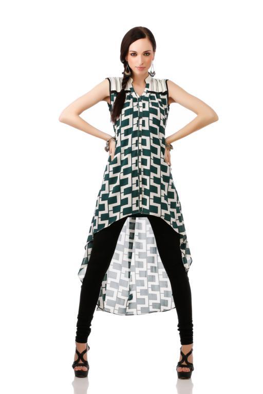 Indian Stylish New Ethnic Design Wear Women Ladies Kurta Kurti ...