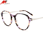 Wholesale fashion acetate eye glasses eyewear/ ready goods eyeglasses spare parts/ acetate material optical frames
