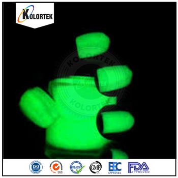 Kolortek Glow In The Dark Nail Powder,Photo Luminescent Powder ...
