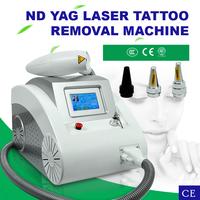Laser beauty equipment / q switch nd yag laser tattoo removal machine